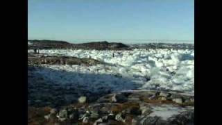 Farlig leg på isen