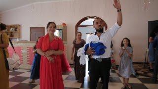 г. Аткарск Вася и Анжела празднуют рождение сына Гриши