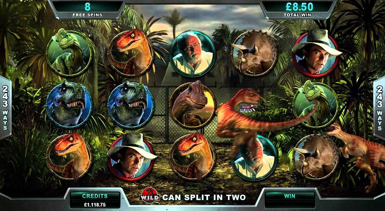 Jurassic Park Online Slot Game Promo Youtube