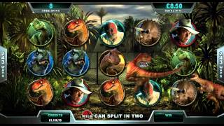 Jurassic Park™ Online Slot Game Promo(The heart-pounding T-Rex Alert Mode, captivating parallax effect and dramatic in-game footage from the movie make Jurassic Park™ one Humongousaurus rex ..., 2014-06-20T10:44:29.000Z)