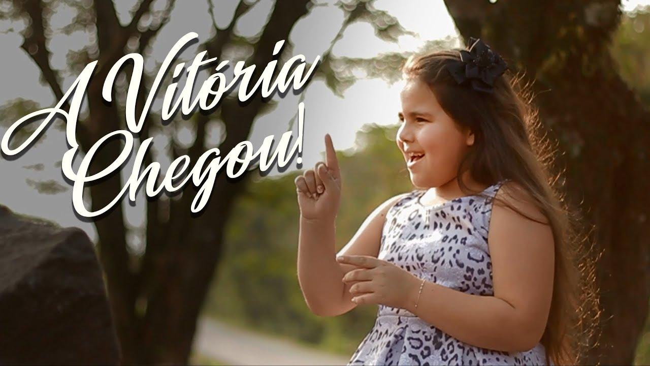 A vitória chegou - Andressa Vyctória (Cover)