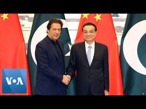 Pakistan PM Imran Khan Meets Chinese Counterpart