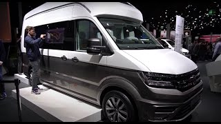 California xxl vw exklusive walkaround  iaa 2017 vw volkswagen 2018 interior designer jörg hinkfoth