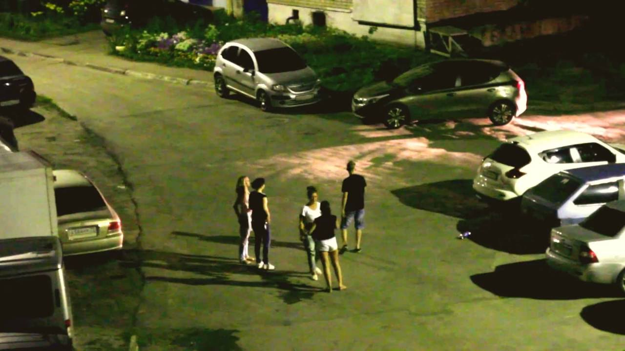 Ночная драка девушек в Ульяновске