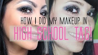Download How I did my makeup in HIGH SCHOOL TAG! Mp3 and Videos