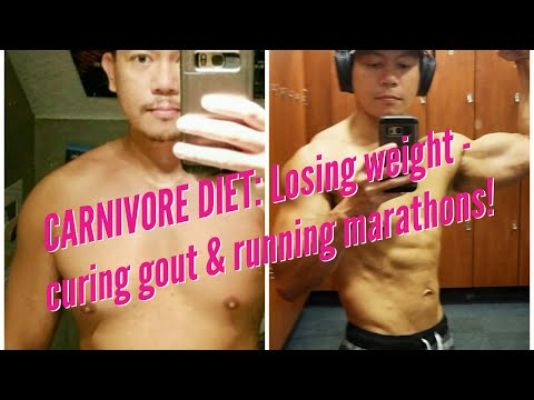 CARNIVORE DIET RESULTS: 70 pound weight loss, curing gout & running marathons