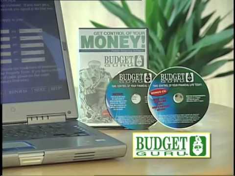 Budget Guru Personal Budgeting Software Program
