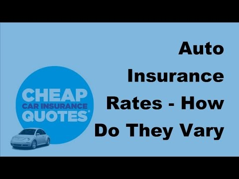 Auto Insurance Rates | How Do They Vary by State  - 2017 Auto Insurance Basics
