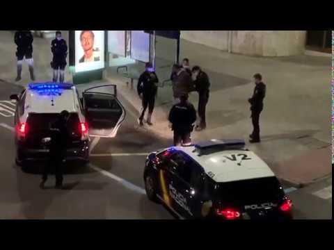 Detenido un hombre en Santander con tres sanciones anteriores por deambular por la calle