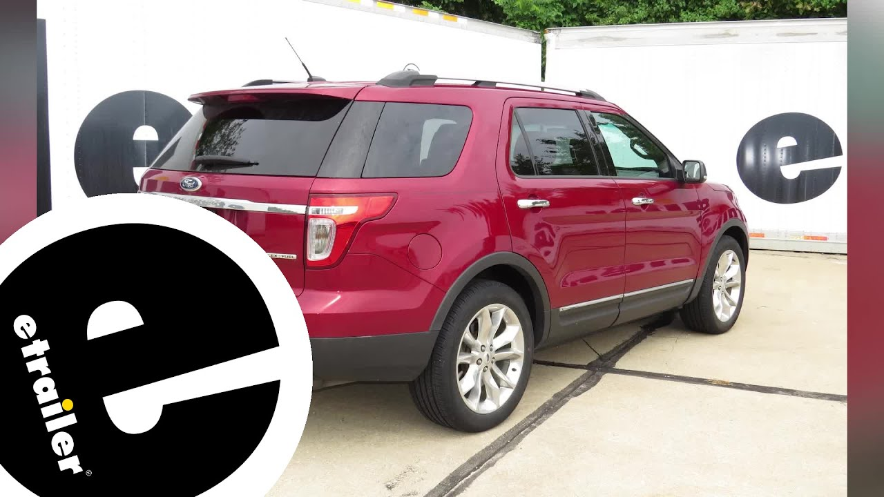 Trailer Hitch Installation 2015 Ford Explorer Draw Tite Etrailer Com
