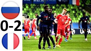 Молодёжная сборная России проиграла Франции Маслов виноват
