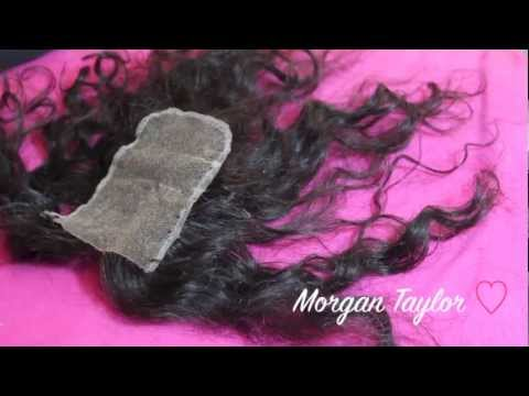 How To: Flawless Natural Part on a Lace Closure