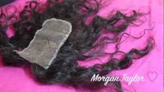 How To: Create a Natural Scalp on a Lace Closure (Part 2)