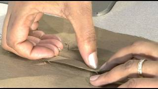 How to make an open seam
