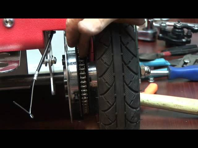 How to adjust the chain alignment