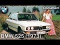 BMW 525 Making Of /1973/ Exterior, Interior, Driving Scenes
