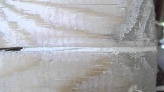 Герметизация щелей и трещин в бревнах и между бревнами(Во время строительства дома из бруса или бревна необходимо учитывать, что этот натуральный материал облада..., 2014-07-11T17:01:21.000Z)