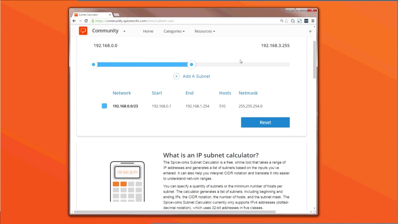 IP Subnet Calculator: Expand your network or start from scratch