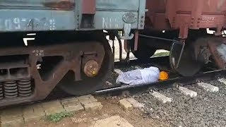 Elderly man comes under goods train, emerges unhurt in Karnataka's Bagalkot
