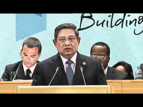 The President of Indonesia Addresses the International Labour Conference