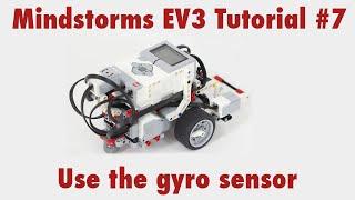 Mindstorms EV3 Tutorial #7: Use the gyro sensor