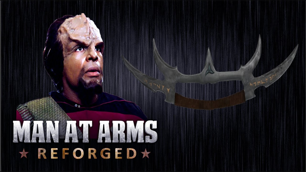 sword of kahless star trek man at arms reforged youtube