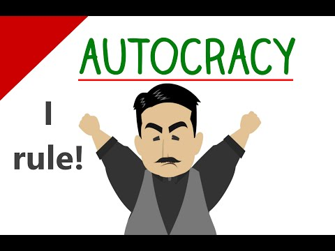 Learn English Words - Autocracy (Vocabulary Video)