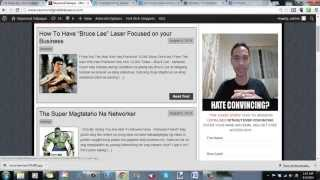 How To Make a FREE Blog FAST Pinoy Style