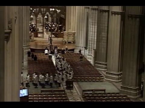 November 15, 2017: Weekday Evensong at Washington National Cathedral