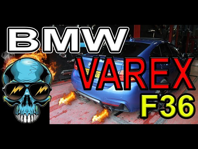 BMW F36 4.18 KUMANDALI VAREX EGZOZ SESİ