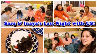 A See Off party for Inaya & Sara| our Bacha Party Late Night Fun|I made a card for them| DKI