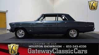 1967 Chevrolet Nova II Gateway Classic Cars #790 Houston Showroom