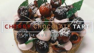 CHERRY CHOCOLATE TART [RECIPE] 체리 쇼콜라 타르트 만들기