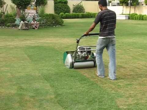 Demo Of Green Mower Gm 1100 All Garden Machines Youtube