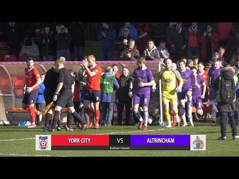 York City 0-1 Altrincham (09/03/2019)