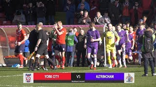 York City 0-1 Altrincham (09/03/2019)