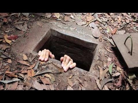 ABD Askerlerinden Saklanmak için Yapılan Muhteşem Yeraltı Tüneli !!!