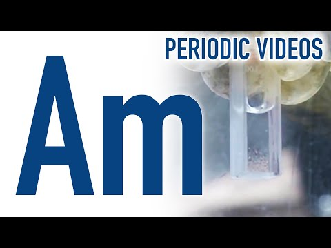 Video image: Americium - Periodic Table of Videos