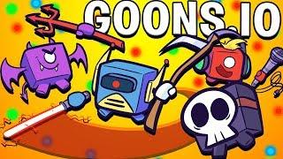 WORLD RECORD 1,000 KILLS LARGEST SWORD! - Goons.io Craziest IO Games
