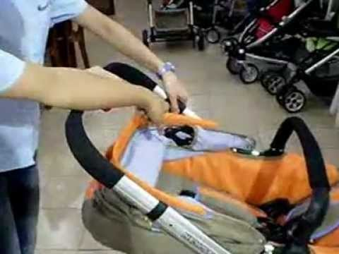 Cara Melipat Chris and Olins U6658D Vogue Travel System Baby Stroller