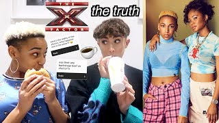 Juicy Mukbang w/ Acacia (spilling the tea on the x-factor sis)