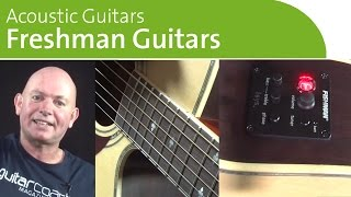 Freshman Acoustic Guitars |  NAMM 2014