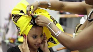 Tuto Headwrap/ attaché de foulard