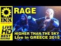 watch he video of RAGE - Higher than the sky (medley edition live 2015)