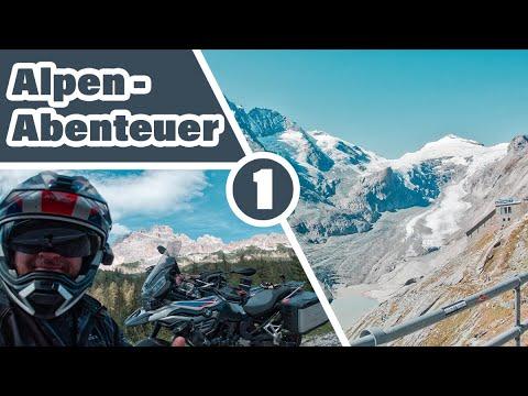 Motorradabenteuer Episode 1 | Alpen | [15 Pässe in 5 Tagen] | Großglockner | 4K UHD