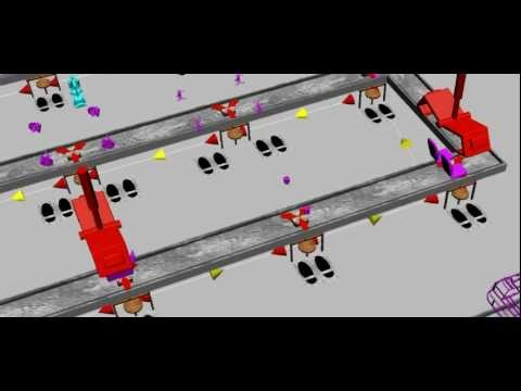 SKKU PLM 3rd Project - Electronic Automobile Factory Layout