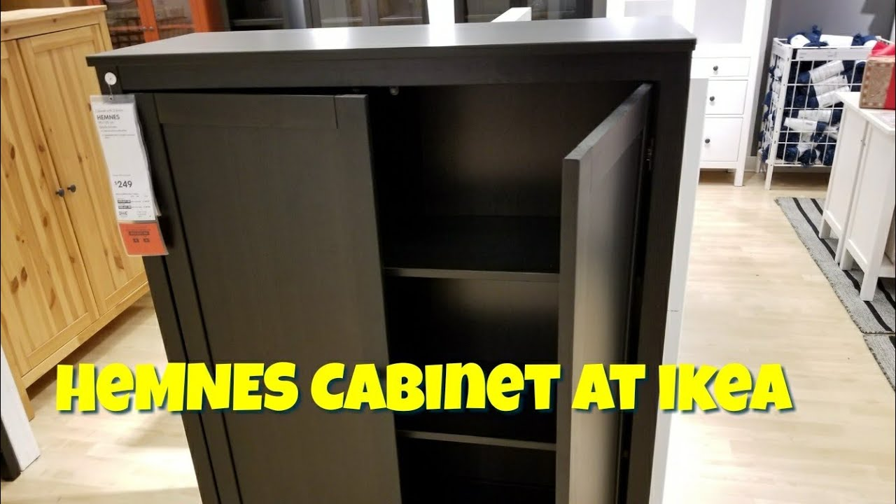 Merveilleux HEMNES Cabinet At IKEA   YouTube