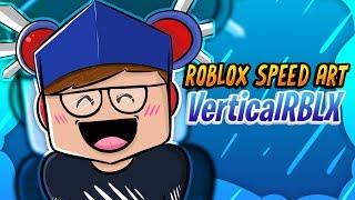 Roblox Speed Art | VerticalRBLX
