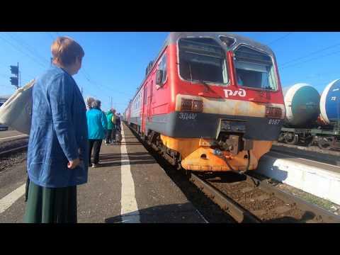 ЭД4М-0167, маршрут: Александров-1 - Ярославль-Главный / Train ED4M-0167