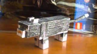 Minecraft Из Бумаги - 70 Кошка